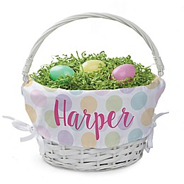 Polka Dots Easter Basket