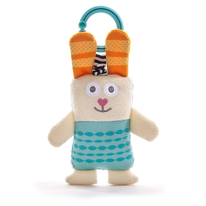 Alternate image 1 for Taf Toys™ Development Ronnie the Rabbit Rattling Soft Toy