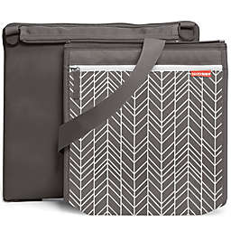 SKIP*HOP® Central Park Outdoor Blanket & Cooler Bag in Grey Feather
