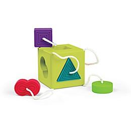 Fat Brain Oombee Cube Shape Sorter/Teether