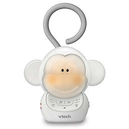 VTech Myla the Monkey Portable Safe & Sound Storytelling Soother with Night Light in White