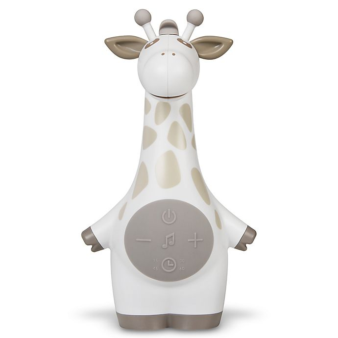 Alternate image 1 for Project Nursery® Giraffe Sound Soother in White