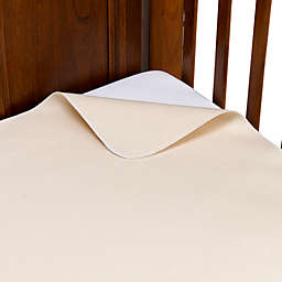 Naturepedic® Organic Cotton Waterproof Flat Crib Pad Cover