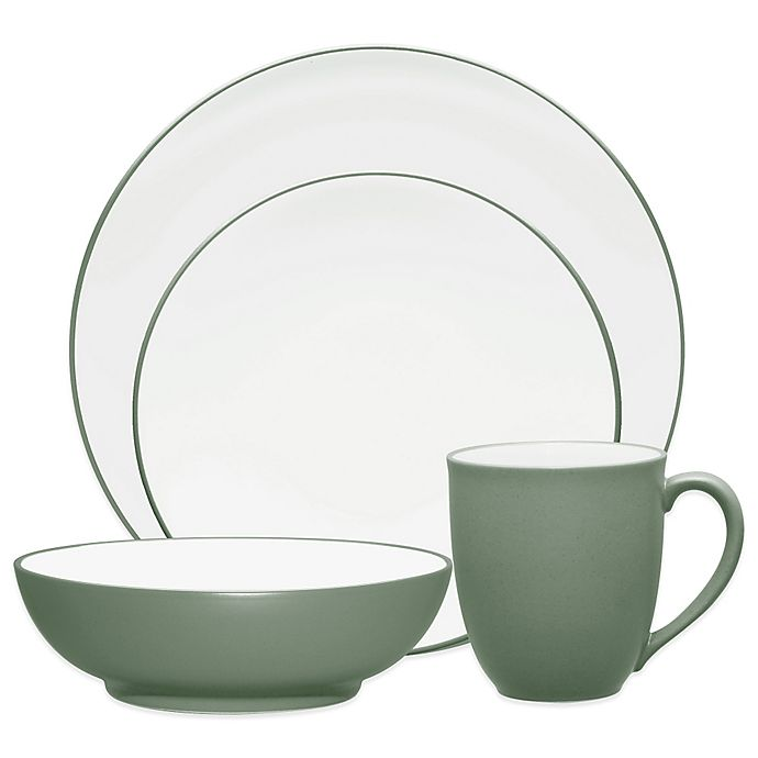 Alternate image 1 for Noritake® Colorwave Coupe Dinnerware Collection in Green