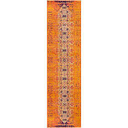 Safavieh Monaco Timeo 2-Foot 2-Inch x 14-Foor Runner in Orange Multi