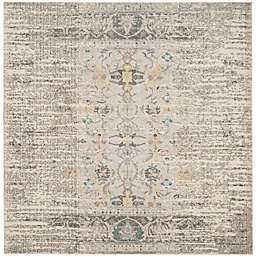 Safavieh Monaco Timeo 6-Foot 7-Inch Square Area Rug in Grey Multi