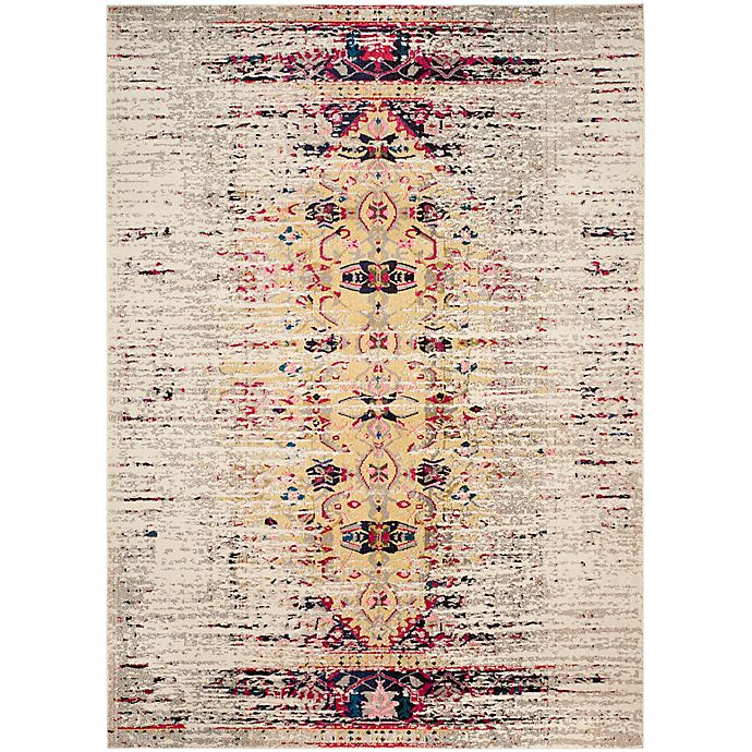 Alternate image 1 for Safavieh Monaco Timeo 10-Foot x 14-Foot Area Rug in Ivory/Pink