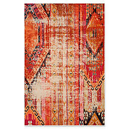 Safavieh Monaco Nayva 5-Foot 1-Inch x 7-Foot 7-Inch Area Rug in Orange