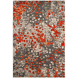 Safavieh Monaco 3' x 5' Area Rug in Orange
