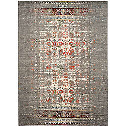 Safavieh Monaco Abstract 4-Foot x 5-Foot 7-Inch Area Rug in Grey/Ivory