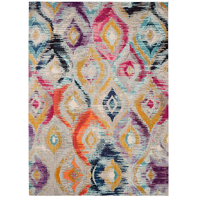Alternate image 1 for Safavieh Monaco Ogee 9-Foot x 12-Foot Multicolor Area Rug