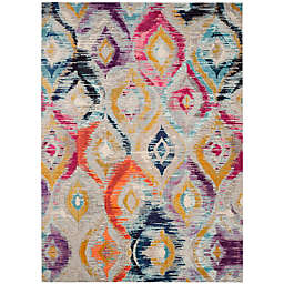 Safavieh Monaco Ogee 10-Foot x 14-Foot Multicolor Area Rug