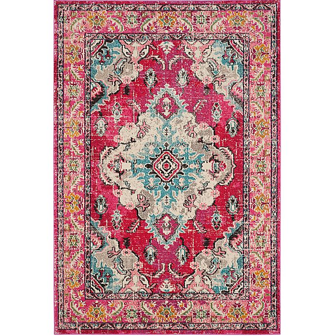 Alternate image 1 for Safavieh Monaco Vintage Bohemian 2-Foot 2-Inch x 4-Foor Accent Rug in Pink