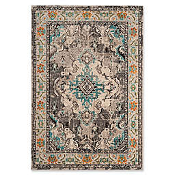 Safavieh Monaco Vintage Bohemian 5-Foot 1-Inch x 7-Foot 7-Inch Area Rug in Grey/Light Blue