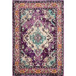 Safavieh Monaco Vintage Bohemian 9-Foot x 12-Foot Area Rug in Violet/Light Blue
