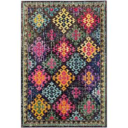 Safavieh Monaco Patchwork 4-Foot x 5-Foot 7-Inch Multicolor Area Rug