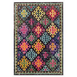 Safavieh Monaco Patchwork 5-Foot 1-Inch x 7-Foot 7-Inch Multicolor Area Rug