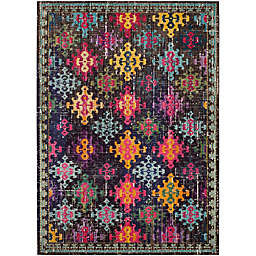 Safavieh Monaco Patchwork 8-Foot x 11-Foot Multicolor Area Rug