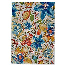 Feizy Cassia Pastel Floral Rug
