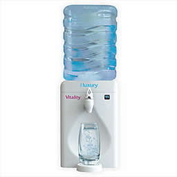 Little Luxury® Vitality 2.15-Gallon Mini Water Cooler with Vitality Filter in White