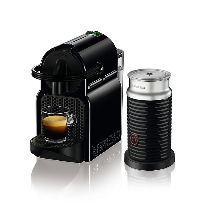 Alternate image 1 for Nespresso® by DeLonghi Inissia Espresso Machine with Aeroccino