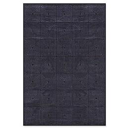 Feizy Settat in Black/Charcoal