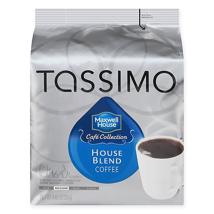 Alternate image 1 for Maxwell House 16-Count Medium House Blend T DISCS for Tassimo® Beverage System
