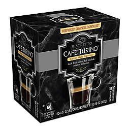 Cafe Turino™ Ristretto Espresso Capsules 60-Count