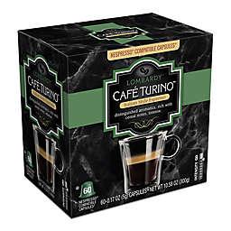 Cafe Turino™ Lombardy Espresso Capsules 60-Count