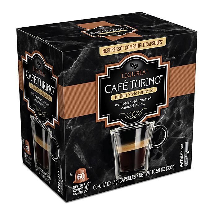Alternate image 1 for Cafe Turino™ Liguria Espresso Capsules 60-Count