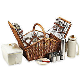 Picnic at Ascot Huntsman Picnic Basket for 4 with Coffee Service