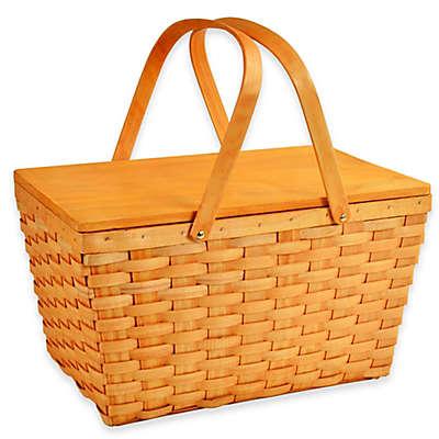 Picnic at Ascot Overland Picnic Basket in Honey