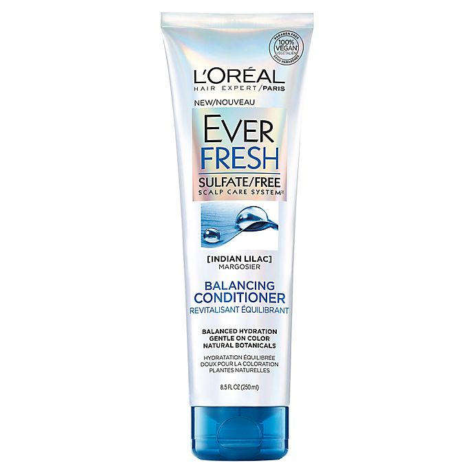 Alternate image 1 for L'Oréal® Paris 8.5 fl.oz Hair Care EverFresh Balancing Antidandruff Conditioner