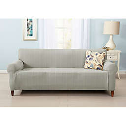 Great Bay Home Darla Strapless Cable Knit Furniture Slipcovers