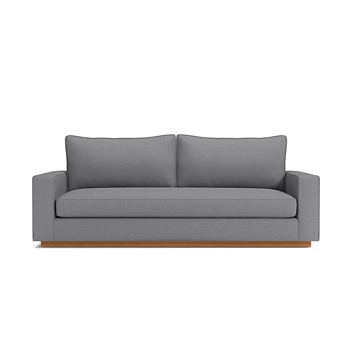 Alternate image 1 for Kyle Schuneman for Apt2B Harper Sofa with Pecan Base in Mountain Grey