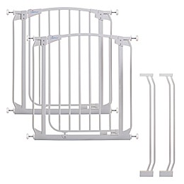 Dreambaby® Chelsea Auto Close Stay Open Security Gate in White (Set of 2)