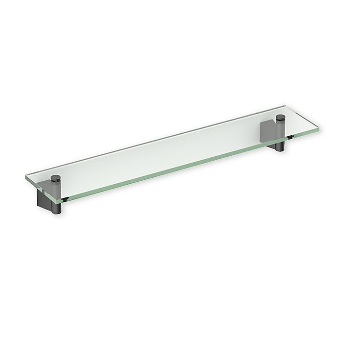 Gatco 174 Bleu Glass Shelf Bed Bath Amp Beyond