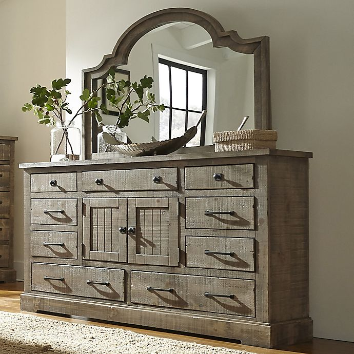 Meadow Dresser In Weathered Grey Bed
