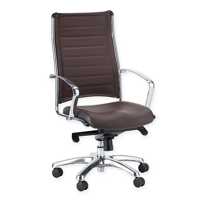 Prime Eurotech Europa High Back Leather Executive Office Chair Beatyapartments Chair Design Images Beatyapartmentscom