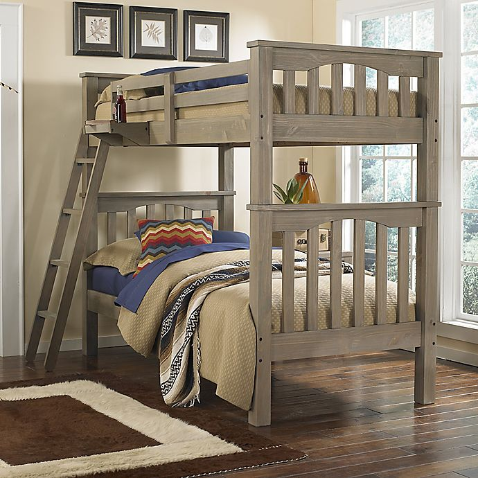 Alternate image 1 for Hillsdale Kids and Teen Highlands Harper Twin Bunk Bed in Driftwood