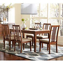 Mid-Mod Rectangular Dining Table in Cinnamon