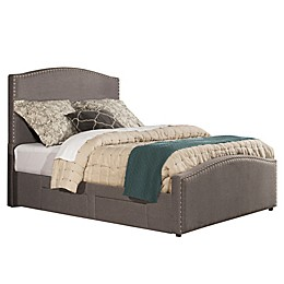 Hillsdale Kerstein Queen Storage Bed in Grey