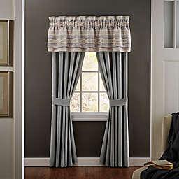 Croscill® Ansonia 84-inch Pole Top Window Panel Pair in Grey