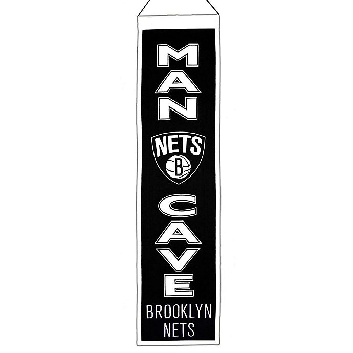 Alternate image 1 for NBA Brooklyn Nets Man Cave Banner