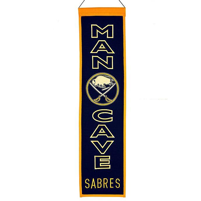 Alternate image 1 for NHL Buffalo Sabres Man Cave Banner