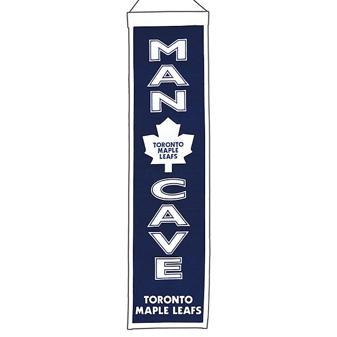 Alternate image 1 for NHL Toronto Maple Leafs Man Cave Banner