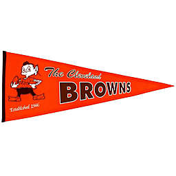NFL Cleveland Browns Throwback Pennant