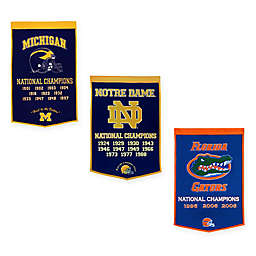 Collegiate National Champions Dynasty Banner Collection