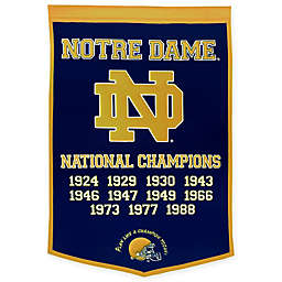 University of Notre Dame National Champions Dynasty Banner