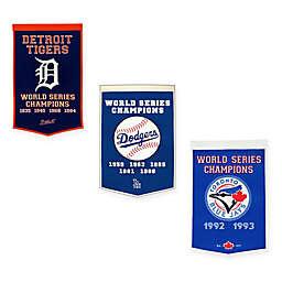 MLB World Series Championship Banner Collection